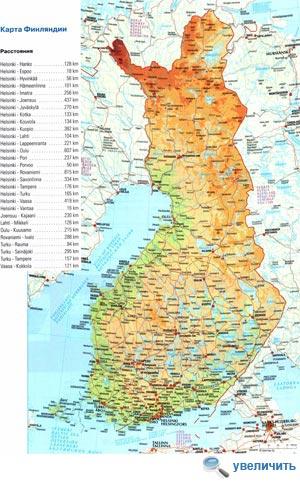 Население Финляндии составляет